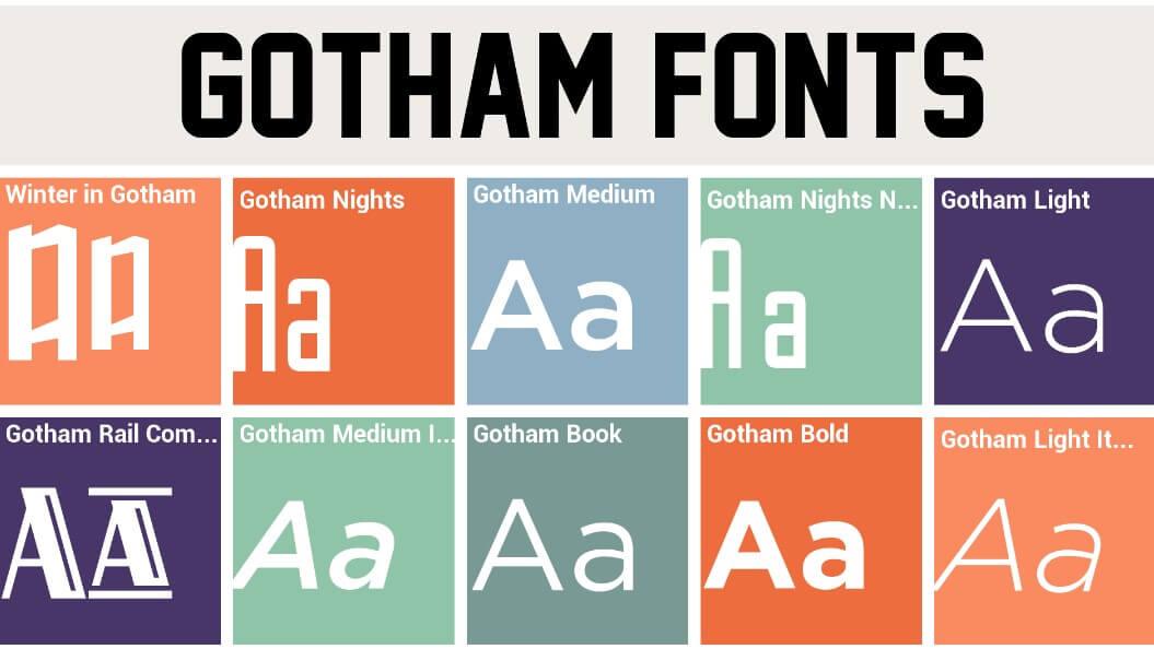 Gotham Font Web Free Gotham Font Family Free DownloadGotham