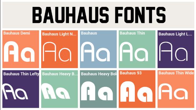 Bauhaus 93 font family  Free Bauhaus 93 Font Download  2019