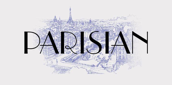 Download Parisian Font - Download Free in Ttf, Otf & Zip Format